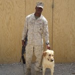 Cpl Collins & IDD Buddy