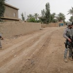 DSC00314 Makripodis MWD Infantry on patrol 2 4-2010