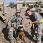 SSgt Kaiser & Under Cover MWD