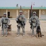 SSgt Torres- Dog Father TSgt Manning &  SSgt Avarado Photo 3-2010
