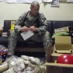 TSgt Kaluza Opening packages from SO4LS